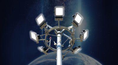ışın aydınlatma projektör aydınlatma direkleri